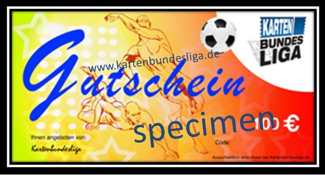 Ticket Gutschein 100 €