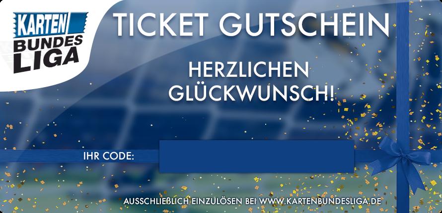 """Ticket Gutschein """"Herzlichen Glückwunsch"""""""