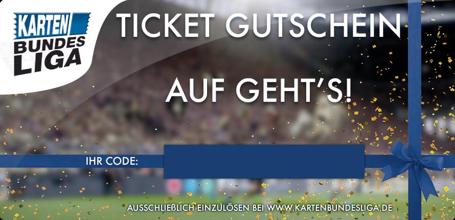 """Ticket Gutschein """"Champions League"""""""